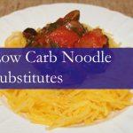 7 Low Carb Noodle Substitutes