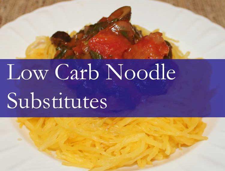 Low Carb Noodle Substitute