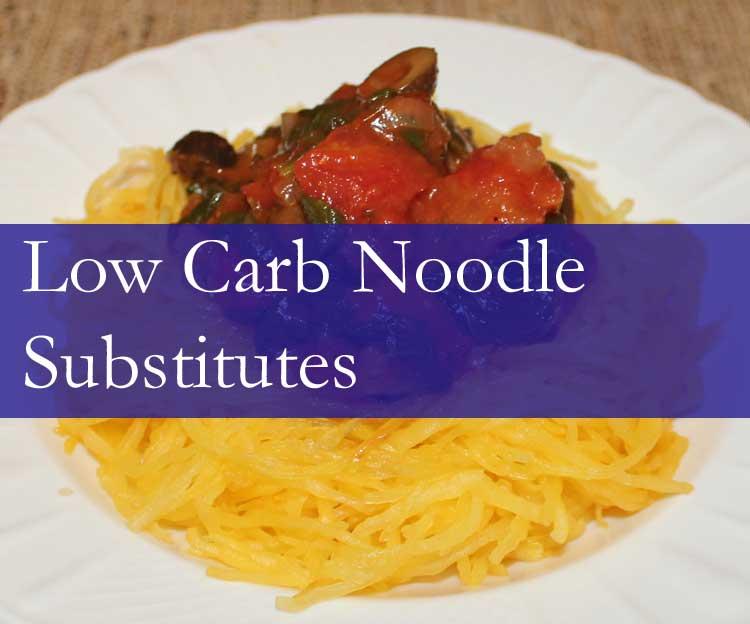 7 Low Carb Noodle Substitutes | Keto Noodles & Pasta Alternatives